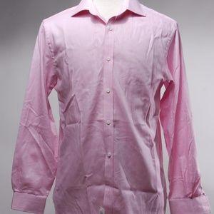 NWT Michael Michael Kors woven Cotton Dress Shirt
